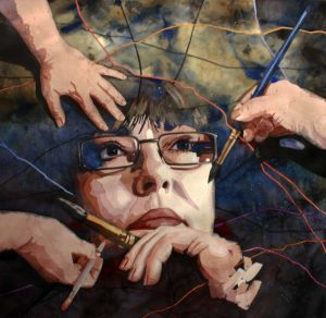 Laurie Goldstein-Warren, Self Portrait