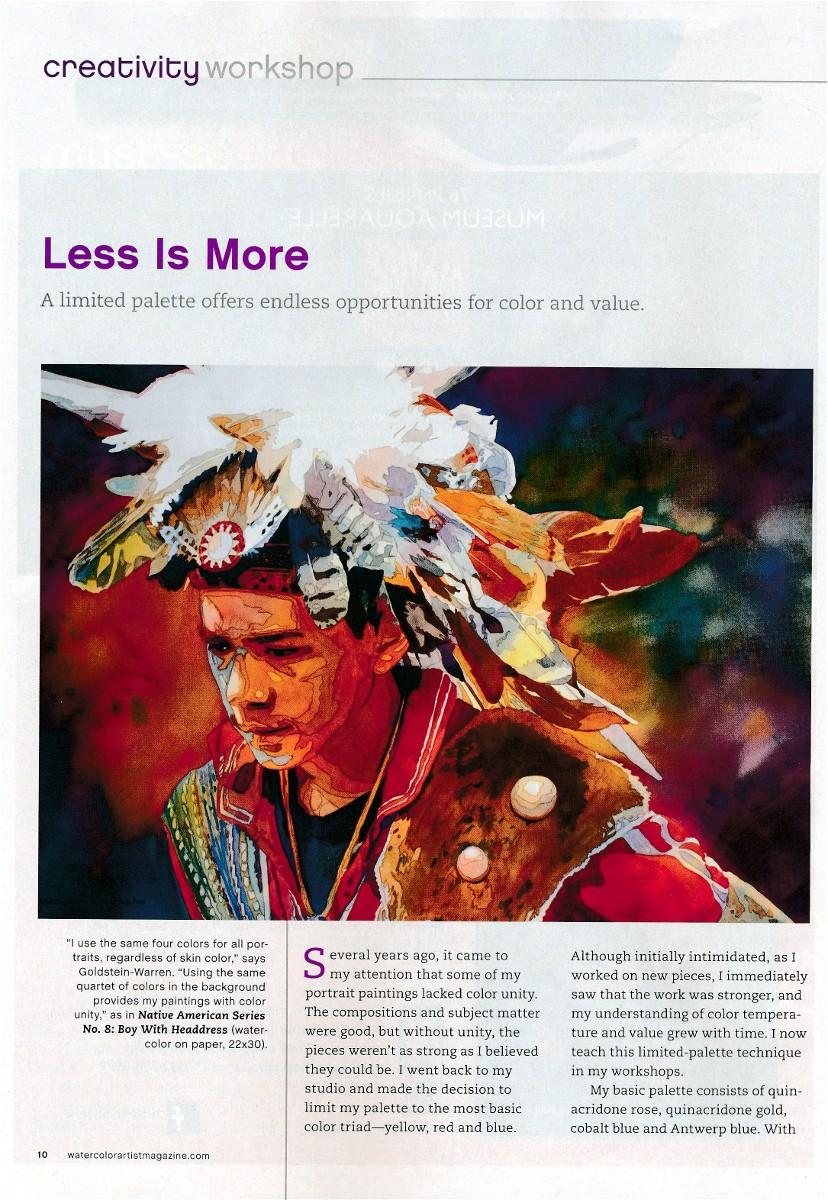 Watercolor artist magazine subscription - Watercolor Artist Magazine Subscription 0